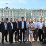 С коллегами - руководителями учебных организаций Ассоциации на XXIV Международной выставке АСМАП-2016 в Санкт-Петербурге.